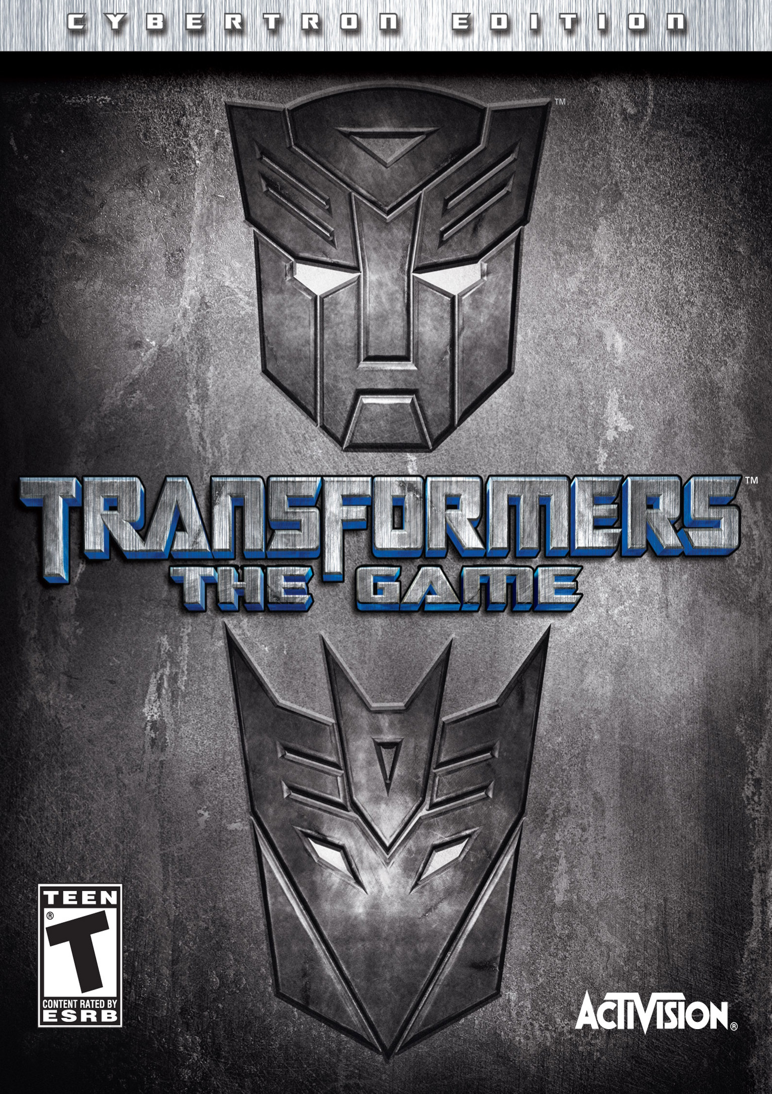Transformers: The Game - predný DVD obal 2