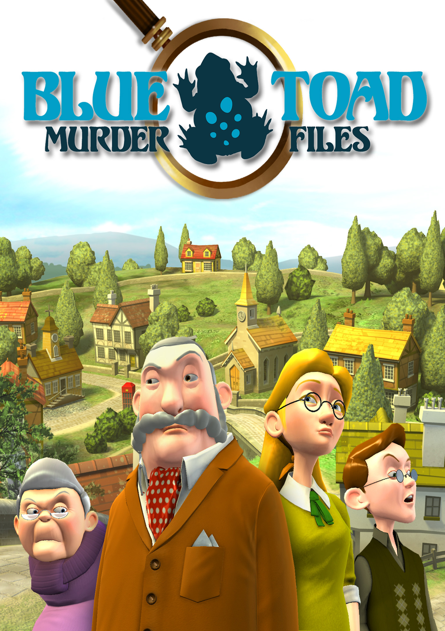 Blue Toad Murder Files: The Mysteries of Little Riddle - predný DVD obal