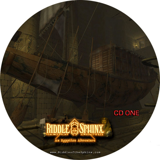 Riddle of the Sphinx - CD obal