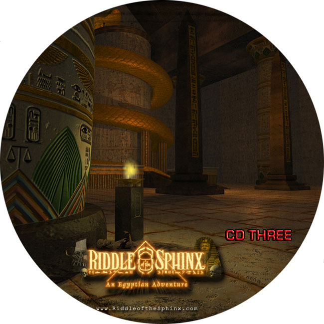 Riddle of the Sphinx - CD obal 3
