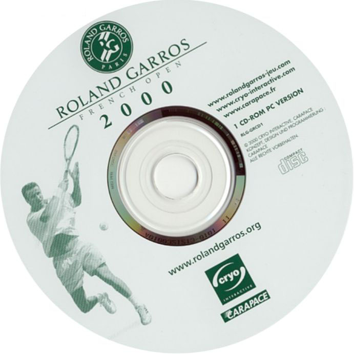 Roland Garros: French Open 2000 - CD obal