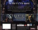 Vampire: The Masquerade - Redemption - zadný CD obal