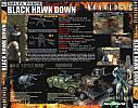 Delta Force: Black Hawk Down - zadný CD obal