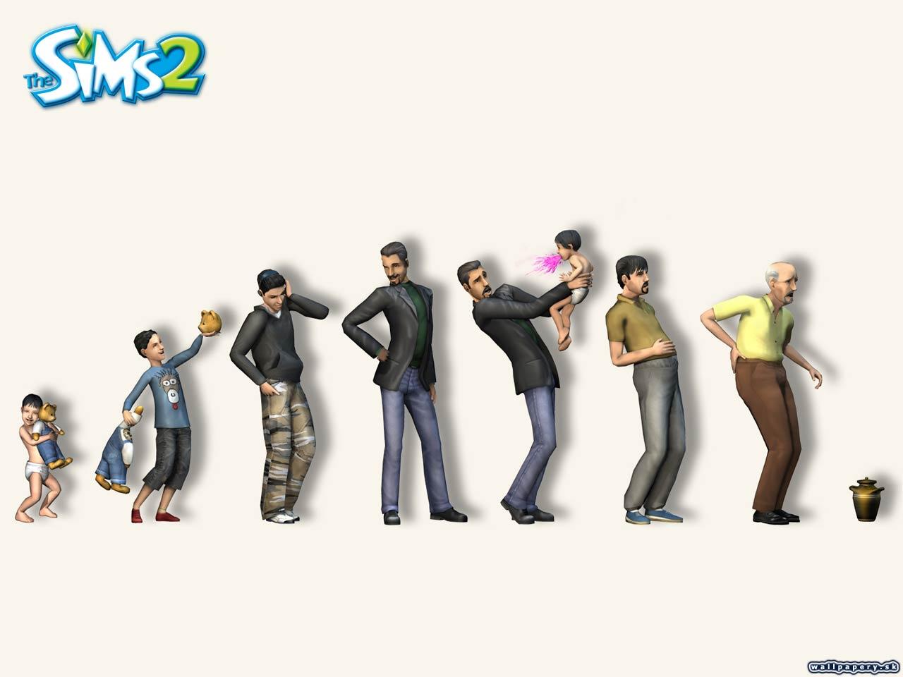 Sims 2 wallpaper